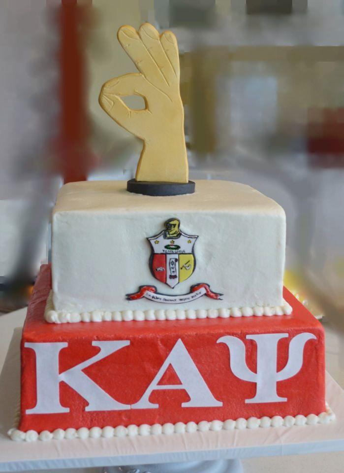 Kappa Alpha Psi Fraternity Groom's Cake