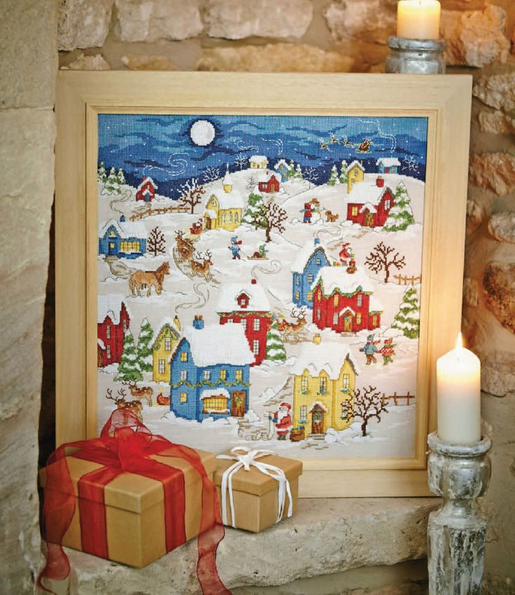Santa's Journey - Available in Cross Stitch Collection 241