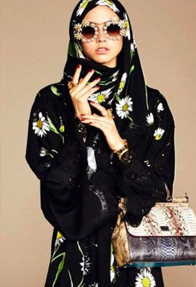 Dolce & Gabbana released its first line of hijabs and abayas: