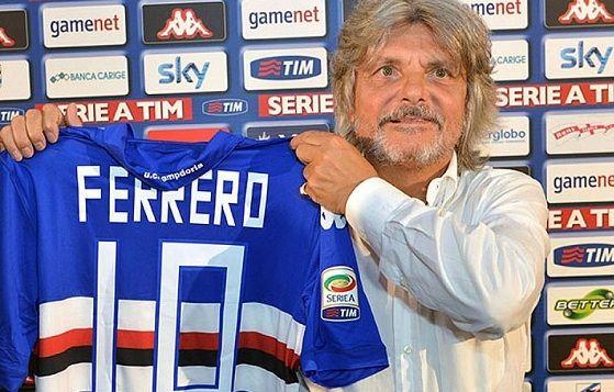 Massimo Ferrero, presidente della Samp e personalità fuori dagli schemi