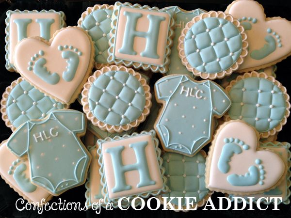 baby boy shower cookies cookie designs cookie ideas baby favors cookie