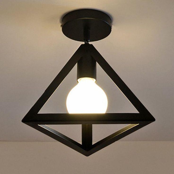Industrie Pendelleuchte Hängeleuchte Leuchte Café Loft Lampe Deckenleuchte Dekor…