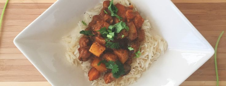 Crock Pot Sweet Potato Chickpea Curry – Nutrition with Jenny