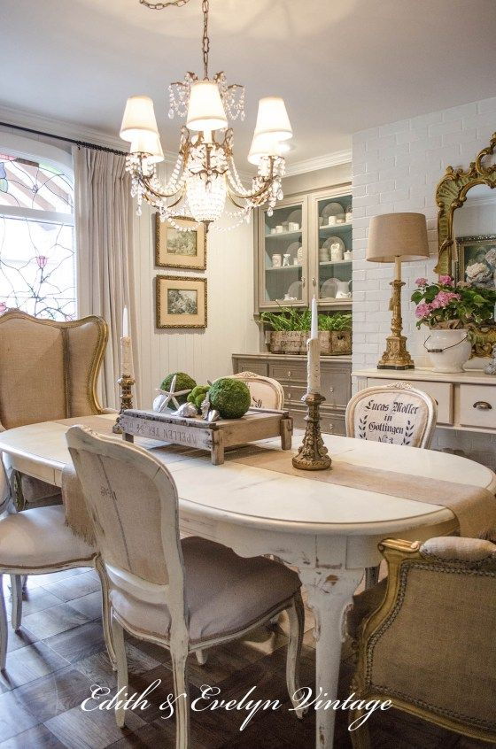 Transformation | Dining Room |Edith U0026 Evelyn Vintage