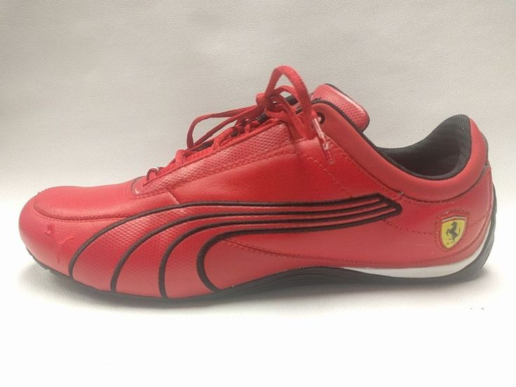 Red Puma Men's Ferrari Racing Shoes Limited Edition Italy ���� Size US 10.5 | eBay!