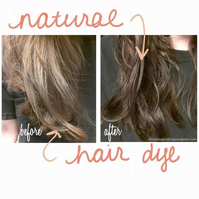 NATURAL HAIR DYE WITH BLACK WALNUTS