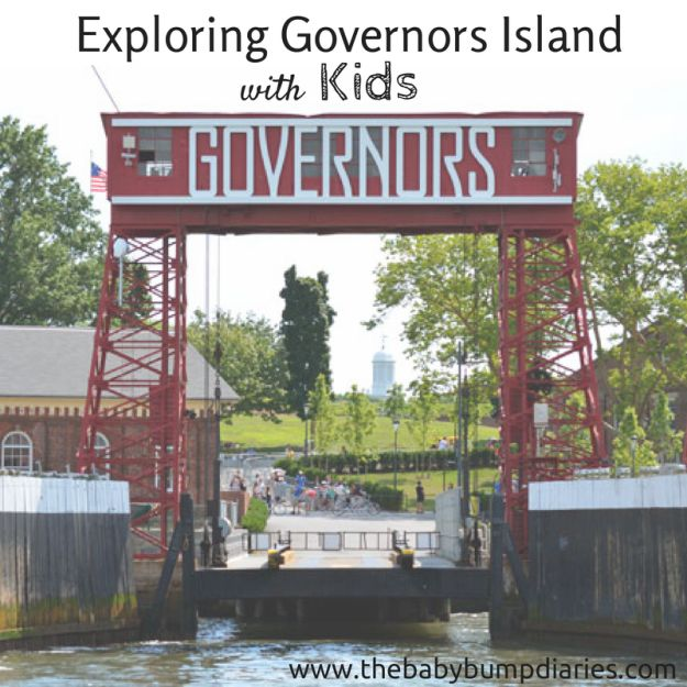 Exploring Governors Island with Kids - The Baby Bump Diaries