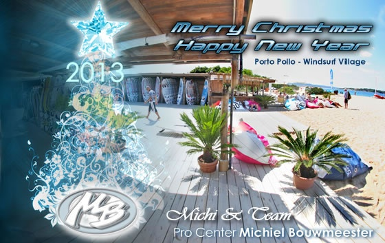 www.procenter.it - Windsurf Holidays - Christmas Card 2012/2013