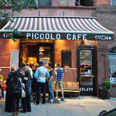 One of the best, most truly authentic Italian cafes in the city...a much needed gem in Hell's kitchen