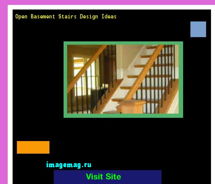 Top 25 ideas about open basement stairs on pinterest for Basement floor plans with stairs in middle