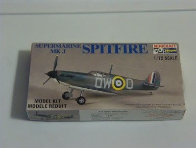 A Junkee Shoppe Junk Market Stop: Spitfire MK1 British Military Airplane Model Kit ... For Sale Click Link Here To View >>>> http://ajunkeeshoppe.blogspot.com/2015/12/spitfire-mk1-british-military-airplane.html