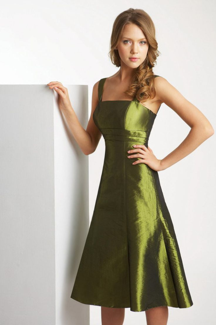 Best 25 inexpensive bridesmaid dresses ideas on pinterest fashionsimple square straps tea length bridesmaid dresses in unique design affordable to buy online for high ombrellifo Image collections