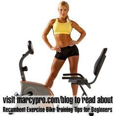 Recumbent Exercise Bike Training Tips for Beginners - http://www.marcypro.com/blog/recumbent-exercise-bike-training-tips-for-beginners/