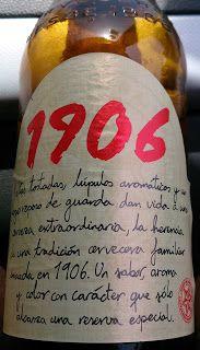 El arte de la cerveza: Cervezas españolas: 1906 (Hijos de Rivera, Galicia, 1993)