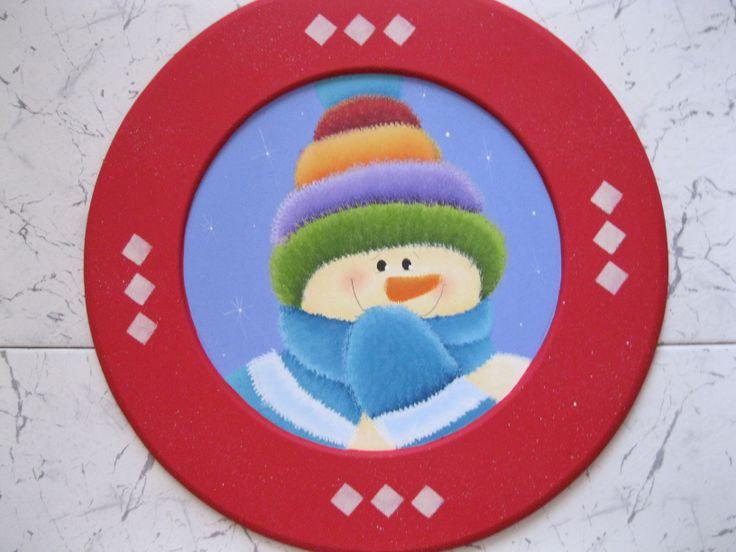 Porta-plato Nieve.