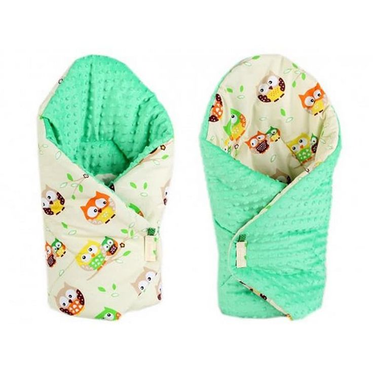 Прикольный конверт одеяло двубортный на выписку Сова зеленый серый в подарок малышу на выписку. Выполнен из американского 100% гипоаллергенного хлопка, застежки – липучки, наполнитель – синтепон по сезону. Может быть использован как плед в коляску, заворачивать малыша можно с обеих сторо