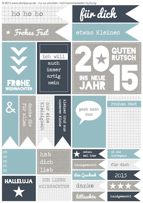 freebies Weihnachten I