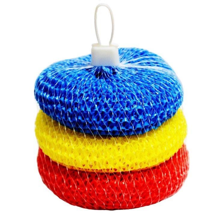 """#Скребок_пластиковый """"Макси"""" (3шт) предназначен для очистки, как сильных загрязнений на кухонных поверхностях, так и легких - на посуде.  Производитель: Hasiba Group (Украина) Цена: 9,38 грн http://hasiba.com.ua/index.php/hoztovary-optom-catalog/skrebki-dlya-posudy/item/57-skrebok-plastikovyj-maksi-3-sht.html"""