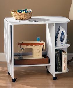 White Sewing Table | Overstock.com