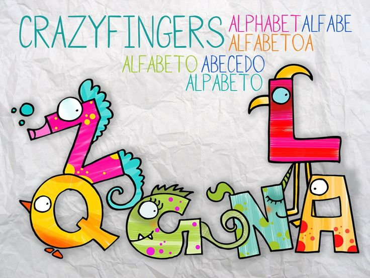 ABC Ditamatte Alfabeto - ABC CrazyFingers Alphabet https://itunes.apple.com/us/app/abc-crazyfingers-alphabet/id620301108?mt=8