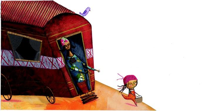 Caperucita Roja, un clásico de la literatura infantil, ilustrada por Miguel Tanco. El artista español crea una Caperucita distinta, gitanilla, para un libro lleno de color, escrito por Pepe Maestro. Caperucita Roja pertenece a la colección Colorín Colorado, creada por la editorial de literatura infantil y juvenil Edelvives para acercar los cuentos de siempre a los niños de hoy. Cada cuento va acompañado de un CD con la narración de la historia y sonidos de ambiente.