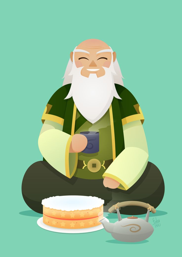 fabianainu: Uncle Iroh, for a collab of Legend of Korra, made by 60 brazilian artists. ♥ You can see the whole collab at: Tumblr, Facebook and Behance