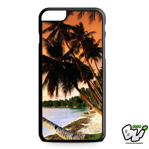 Beach Palm Tree iPhone 6 Plus Case | iPhone 6S Plus Case