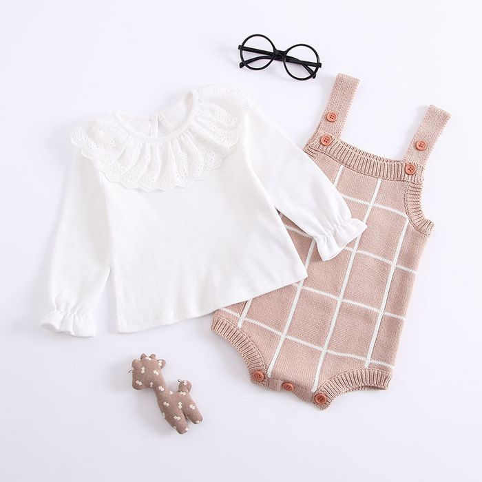 Baby Girls/' Bodysuit Playsuit All-in One Outfit Age 3  6  Months