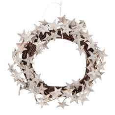 If you're turning your home into a Yuletide celebration this season, you'll need this start-studded decorative piece. Adding a touch of magic to any display, it's a modern take on the traditional tree branch wreath.
