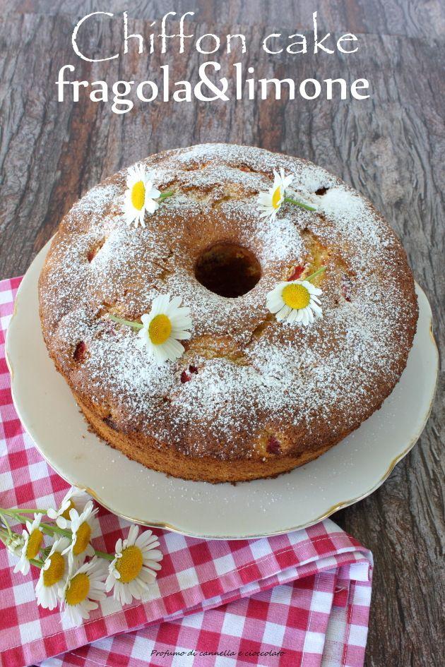 Profumo di cannella e cioccolato: Chiffon cake o fluffosa fragola e limone