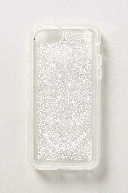 Etched Glass iPhone 5C Case #anthrofave
