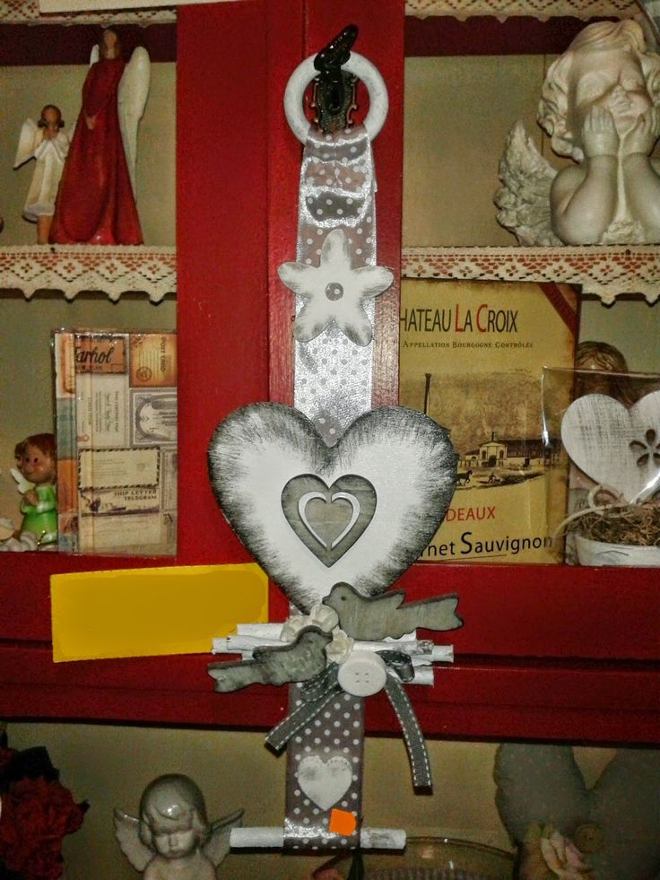 Decoration with heart