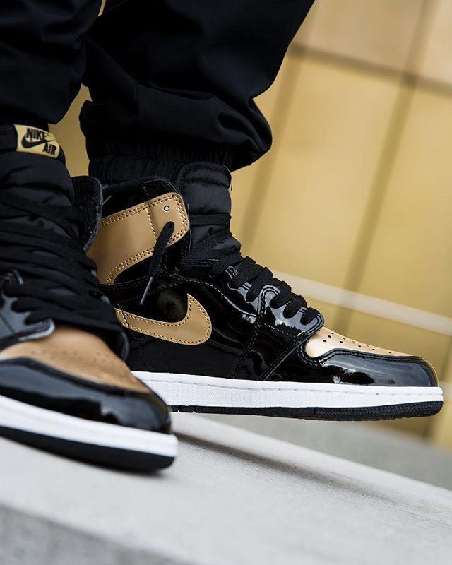 Air Jordan 1 High Og Gold Toe Grailify Sneaker Releases Jordans Outfit For Men Air Jordans Sneakers Nike Jordan