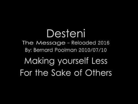 Making yourself Less for the sake of others