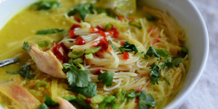 Warm your body and soothe your spirit with a steaming bowl of soup or stew. From Thai Chicken and Rice Noodle Soup to Pasta e Fagioli, these recipes will...
