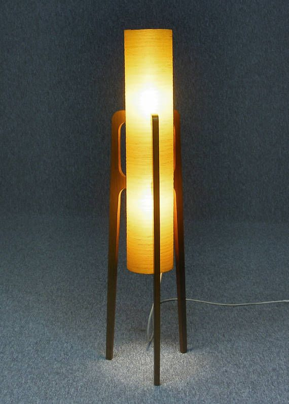 Floor lamp iconic original vintage retro mid century rocket