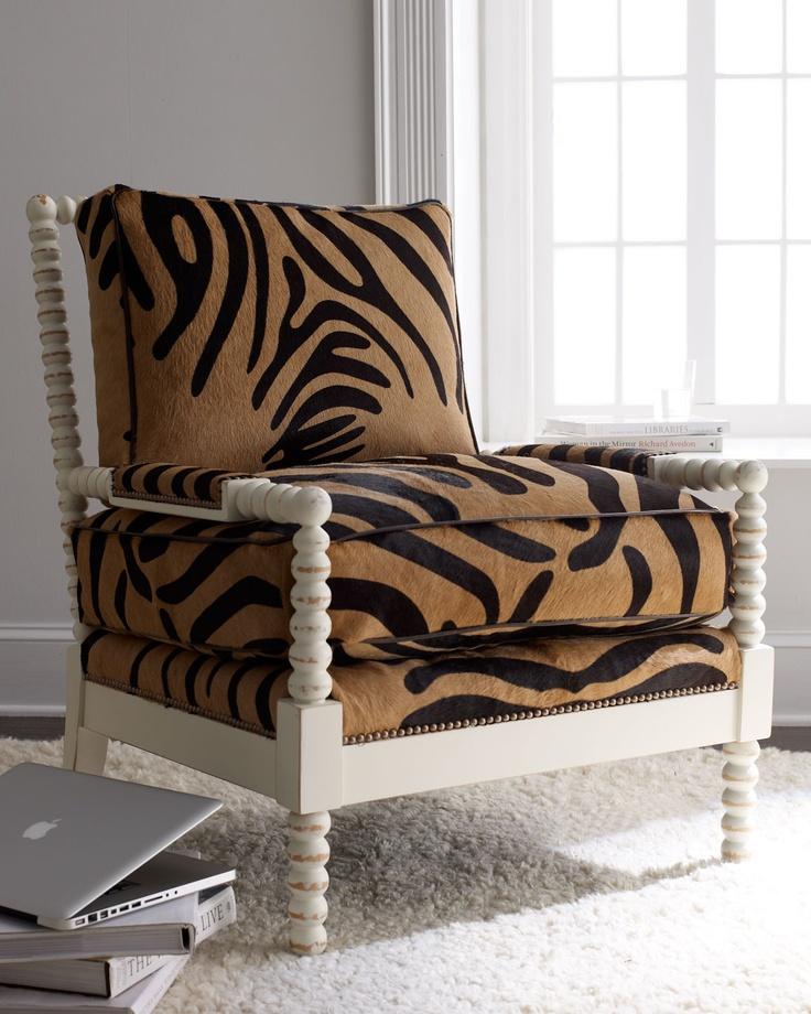 Fallon Hairhide Chair Old Hickory Tannery (Fourlegged