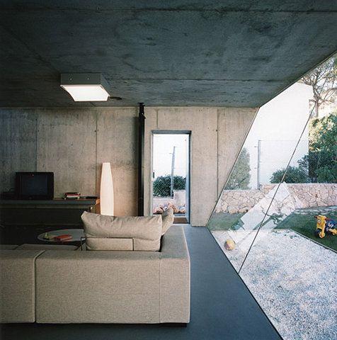 glass & concrete combo. Always a winner