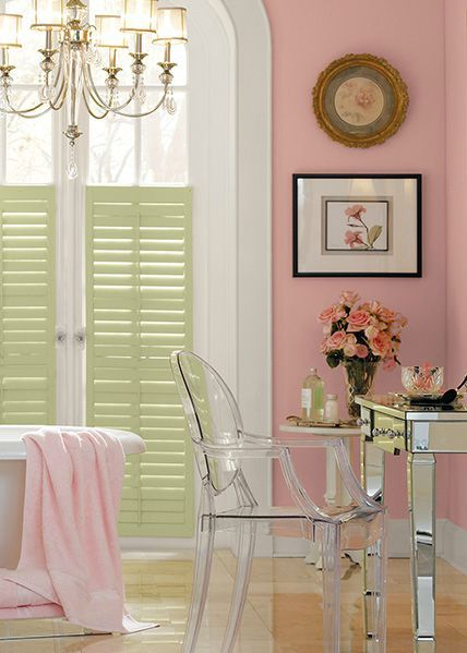 Behr Paint In Sherbert Fruit Adds A Pop Of Pastel Color To