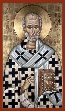 St. Nicholas (Kontoglou) Orthodox Icon