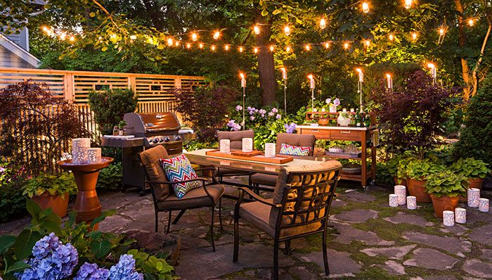 Create An Outdoor Dining Space That Delights By Day And