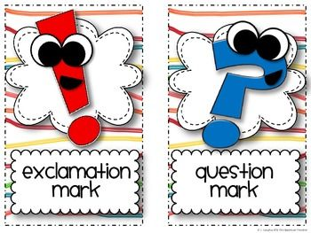 ENDING PUNCTUATION ACTIVITIES - TeachersPayTeachers.com