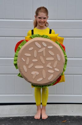 27. Hamburger costume My mom rented me a hamburger costume for a costume party. I was so embarrassed. I will never forget that. Every time I see a Hamburger costume it reminds me of what I went through and I wonder how mom could do that to me lol