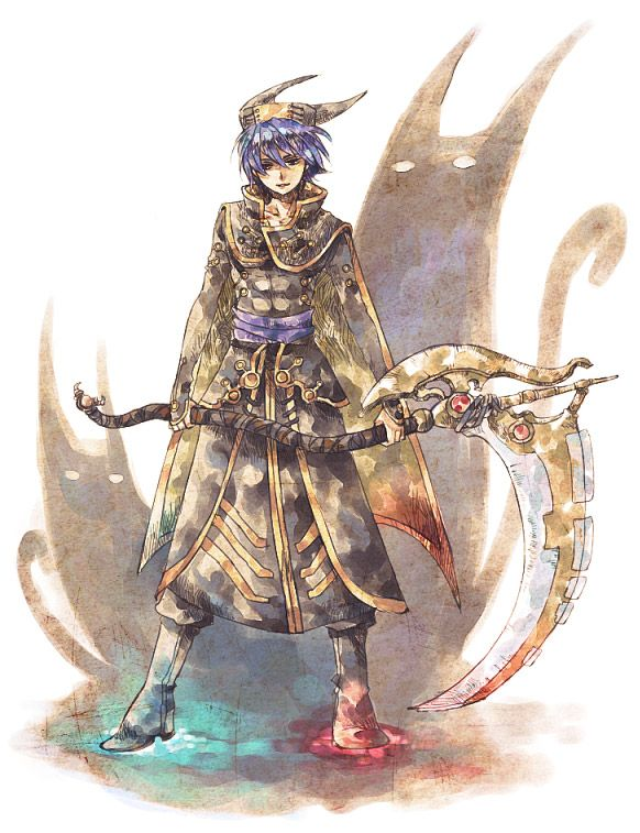 Tags: Anime, Chrono Cross, Scythe, Dark Serge, Tokio (Artist)