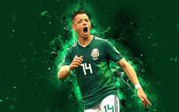 Download Wallpapers 4k, Chicharito, Abstract Art, Mexico