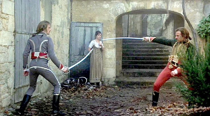 The Duellists (Ridley Scott 1977) Harvey Keitel, Keith Caradine. As a bonafide Napoleonic buff & Ridley fan I can't help but love this film. My first cinema experience of Ridley's work too only surpassed by Alien & Bladerunner.