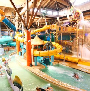 America's Coolest Indoor Water Parks - Articles | Travel + Leisure | Massanutten Indoor WaterPark, McGaheysville, VA