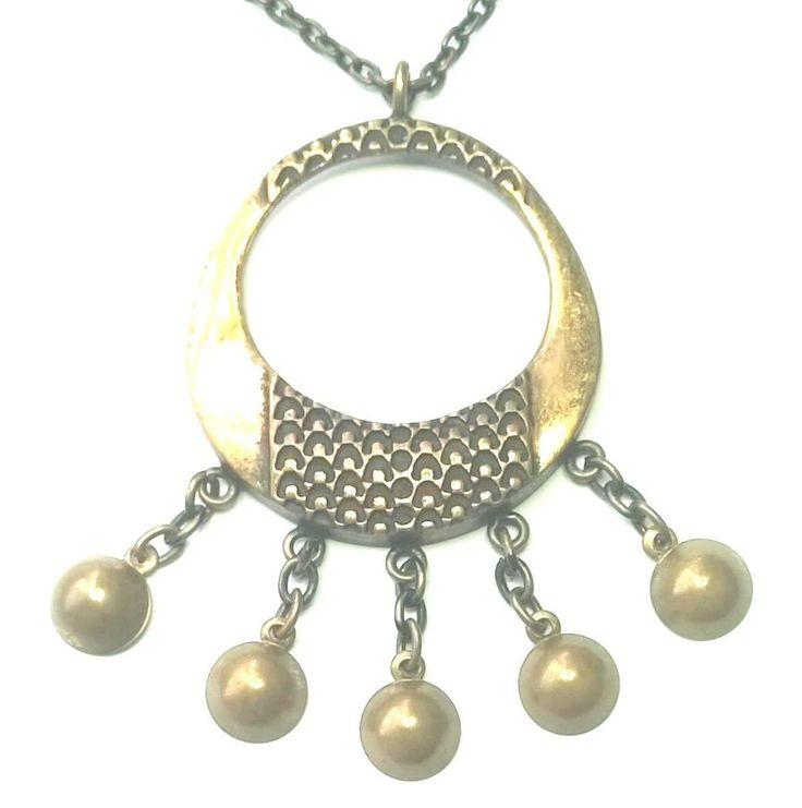Pentti Sarpaneva Finland - Vtg Bronze Pendant with Chain / Necklace - Signed   eBay