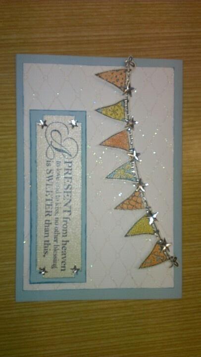 Baby Shower Card made by Brenda Sebastian