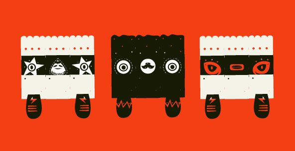 Monsters & Monster Happy FREE on Behance